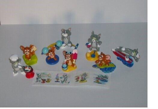 Tom and Jerry - Kinder 3D Set Figurines