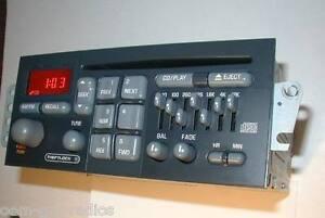 1994-2003 PONTIAC FIREBIRD TRANS AM Firehawk DELCO CD RADIO Stereo 7 BAND EQ