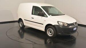 2012 Volkswagen Caddy 2KN MY12 TSI160 SWB Runner SE White 5 Speed Manual Van Welshpool Canning Area Preview