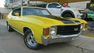 1971 Chevrolet Chevelle SS Yellow Automatic Coupe