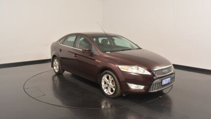 2010 Ford Mondeo MB Zetec Tdci Maroon 6 Speed Sports Automatic Hatchback