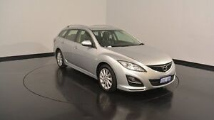 2012 Mazda 6 GH1052 MY12 Touring Silver 5 Speed Sports Automatic Wagon Welshpool Canning Area Preview