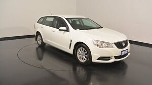 2014 Holden Commodore VF MY15 Evoke Sportwagon White 6 Speed Sports Automatic Wagon Welshpool Canning Area Preview