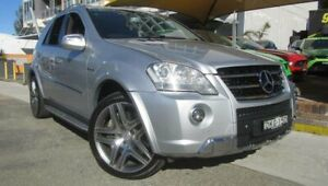 2010 Mercedes-Benz ML63 AMG W164 09 Upgrade 4x4 Silver 7 Speed Automatic G-Tronic Wagon Homebush Strathfield Area Preview