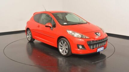 2009 Peugeot 207 A7 GTi Red 5 Speed Manual Hatchback Victoria Park Victoria Park Area Preview