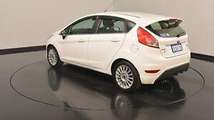 2014 Ford Fiesta WZ Sport White 5 Speed Manual Hatchback Welshpool Canning Area Preview