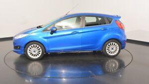 2016 Ford Fiesta WZ Sport Winning Blue 5 Speed Manual Hatchback
