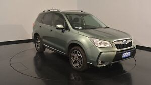2013 Subaru Forester S4 MY13 XT Lineartronic AWD Green 8 Speed Constant Variable Wagon Victoria Park Victoria Park Area Preview