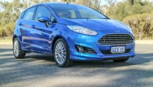 2015 Ford Fiesta WZ MY15 Sport Blue 5 Speed Manual Hatchback Cannington Canning Area Preview