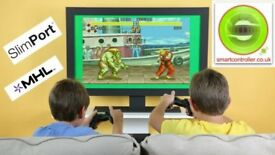 Play 8000 MAME4droid Games with our Wireless Controller on your TV or Smartphone