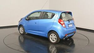 2015 Holden Barina Spark MJ MY15 CD Blue 5 Speed Manual Hatchback Victoria Park Victoria Park Area Preview