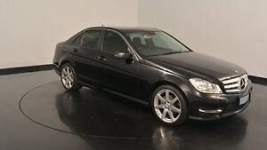 2014 Mercedes-Benz C200 W204 MY14 Elegance 7G-Tronic + Black 7 Speed Sports Automatic Sedan Welshpool Canning Area Preview