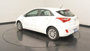 2016 Hyundai i30 GD4 Series II M Active Polar White 6 Speed Sports Automatic Hatchback