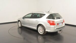 2007 Peugeot 407 SV Touring HDi Silver 6 Speed Sports Automatic Wagon