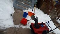 Residential Snow Management / Pool services