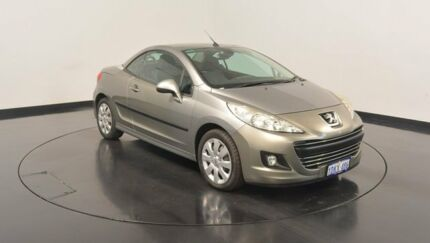 2010 Peugeot 207 A7 Series II MY10 CC Silver 4 Speed Sports Automatic Cabriolet Victoria Park Victoria Park Area Preview