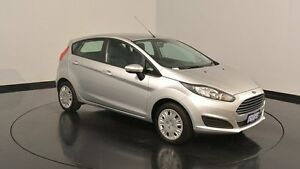 2015 Ford Fiesta WZ MY15 Ambiente PwrShift Ingot Silver 6 Speed Sports Automatic Dual Clutch Victoria Park Victoria Park Area Preview