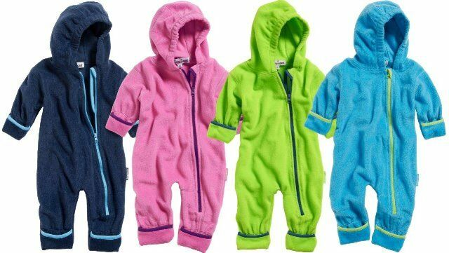 Playshoes Babyanzug Fleeceoverall Fleece Overall Übergang Gr. 62 68 74 80 86 92