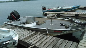 Fishing Bass Boat Motor Rent Cottage RV site Motel Hotel $75/day