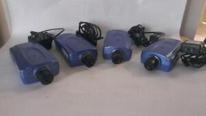 Lot Of Five 4 Trendnet Internet Camera Servers Tv-ip201 W/audio