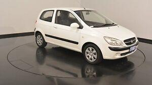 2010 Hyundai Getz TB MY09 S Noble White 5 Speed Manual Hatchback Victoria Park Victoria Park Area Preview