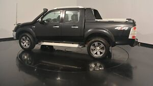 2010 Ford Ranger PK Wildtrak Crew Cab Black Mica 5 Speed Automatic Utility Victoria Park Victoria Park Area Preview