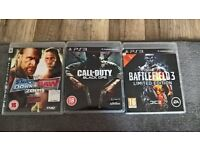 ps3 games £2 each or all for £5