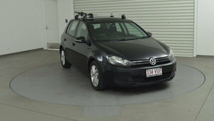 2011 Volkswagen Golf VI MY11 103TDI DSG Comfortline Black 6 Speed Sports Automatic Dual Clutch Southport Gold Coast City Preview