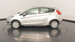 2015 Ford Fiesta WZ MY15 Ambiente PwrShift Ingot Silver 6 Speed Sports Automatic Dual Clutch