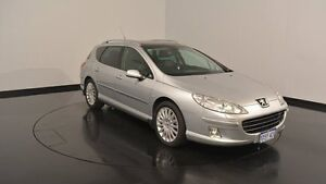 2007 Peugeot 407 ST HDi ST HDI Touring Silver 6 Speed Sports Automatic Wagon Victoria Park Victoria Park Area Preview