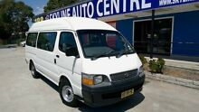 1998 Toyota Hiace Commuter White Manual Bus Silverwater Auburn Area Preview