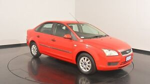 2006 Ford Focus LS CL Red 4 Speed Sports Automatic Sedan Victoria Park Victoria Park Area Preview