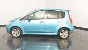 2011 Mitsubishi Colt RG MY11 VR-X Kingfisher Blue 5 Speed Manual Hatchback Victoria Park Victoria Park Area Preview