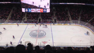 "Edmonton Oilers vs. Washington Capitals ""CENTER ICE"""