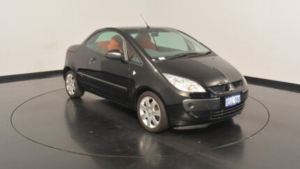 2007 Mitsubishi Colt RZ MY07 Black 5 Speed Manual Cabriolet Victoria Park Victoria Park Area Preview