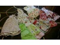 BABY GIRLS TODDLERS CLOTHING BUNDLE AGED APPROX 1-2 YEARS