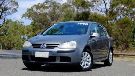 2005 Volkswagen Golf V Comfortline Grey 6 Speed Manual Hatchback Hobart CBD Hobart City Preview