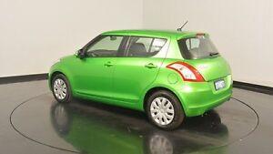 2013 Suzuki Swift FZ GA Green 5 Speed Manual Hatchback Victoria Park Victoria Park Area Preview