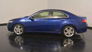 2012 Honda Accord Euro CU MY12 Luxury Navi Dark Blue 5 Speed Automatic Sedan Welshpool Canning Area Preview