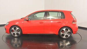 2010 Volkswagen Golf VI MY10 GTi Red 6 Speed Manual Hatchback Victoria Park Victoria Park Area Preview