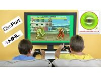 Play 8000 Arcade Games with our Wireless Controller for your TV or Smartphone