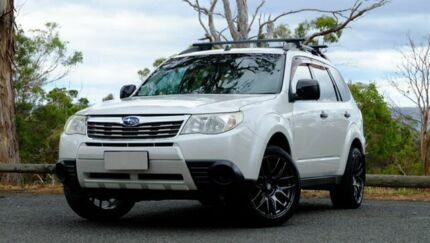 2010 Subaru Forester S3 MY10 X AWD White 4 Speed Sports Automatic Wagon Hobart CBD Hobart City Preview
