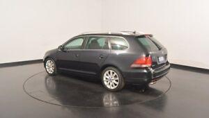 2011 Volkswagen Golf VI MY11 118TSI DSG Comfortline Deep Black 7 Speed Sports Automatic Dual Clutch