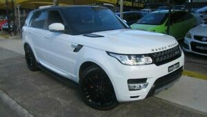 2014 Land Rover Range Rover LW Sport 3.0 SDV6 Autobiography White 8 Speed Automatic Wagon