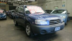 2003 Subaru Forester MY03 X Blue 5 Speed Manual Wagon Mordialloc Kingston Area Preview