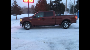 Nearly new 2016 Ford 4 dr truck.would like to trade .please read