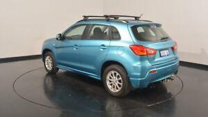 2010 Mitsubishi ASX XA MY11 2WD Kingfisher Blue 5 Speed Manual Wagon