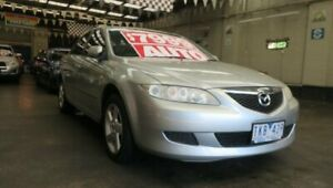 2005 Mazda 6 GG Classic Silver 4 Speed Auto Activematic Hatchback Mordialloc Kingston Area Preview