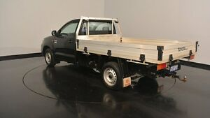 2013 Toyota Hilux TGN16R MY12 Workmate Black 5 Speed Manual Cab Chassis Victoria Park Victoria Park Area Preview