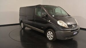 2013 Renault Trafic X83 Phase 3 Low Roof LWB Black 6 Speed Manual Van Victoria Park Victoria Park Area Preview